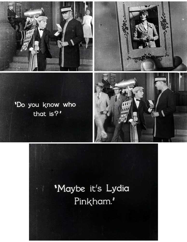 Buster Keaton Lydia Pinkham